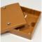 Коробка распределительная 100х100х55 мм,светло-кор