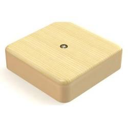 Коробка расп.наруж.установки 75х75х20мм (светл.д)
