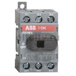 АВВ OT25F3 Рубильник 25 А 3п. 1SCA104857R1001