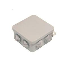 Коробка распределительная для наружной проводки квадрат.80х80х40