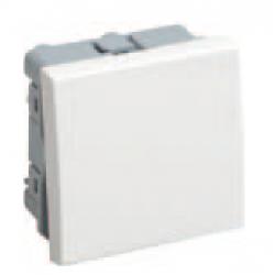 Выключатель проходной 1кл.на 2 модуля Праймер