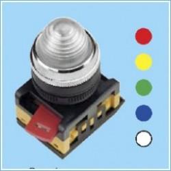 Лампа AL-22 сигнальная d22мм прозрачный неон/240В