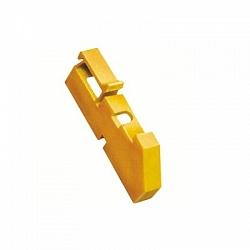 Изолятор DIN жёлтый(ИЭК)