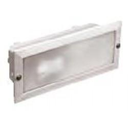 Светильник НПП3102 белый/прямоуг.без реш60 Вт IP54
