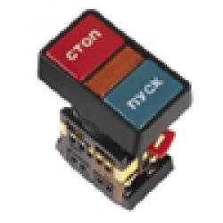 """Кнопка РPBB-30N """"Пуск-Стоп"""" d22мм неон/240В 1з+1р"""