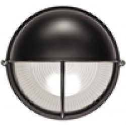 Светильник НПП1105 белый/круг п/сфера-луч 100 Вт I