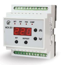 Контроллер управления темпер.приб. КУТП МСК-301-3