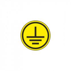 Символ заземления 30х30 мм ИЭК
